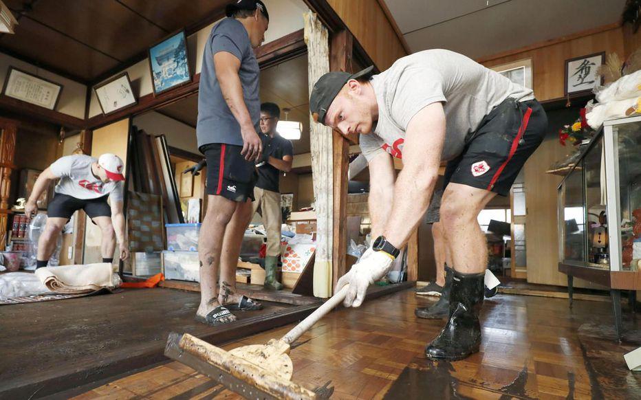 Coupe du monde de rugby : le beau geste des Canadiens envers les sinistrés du typhon