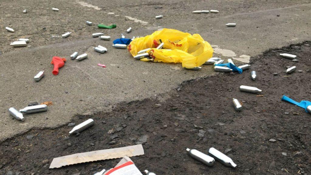 Hauts-de-France : quatre gros consommateurs de protoxyde d'azote ont été touchés à la moelle épinière