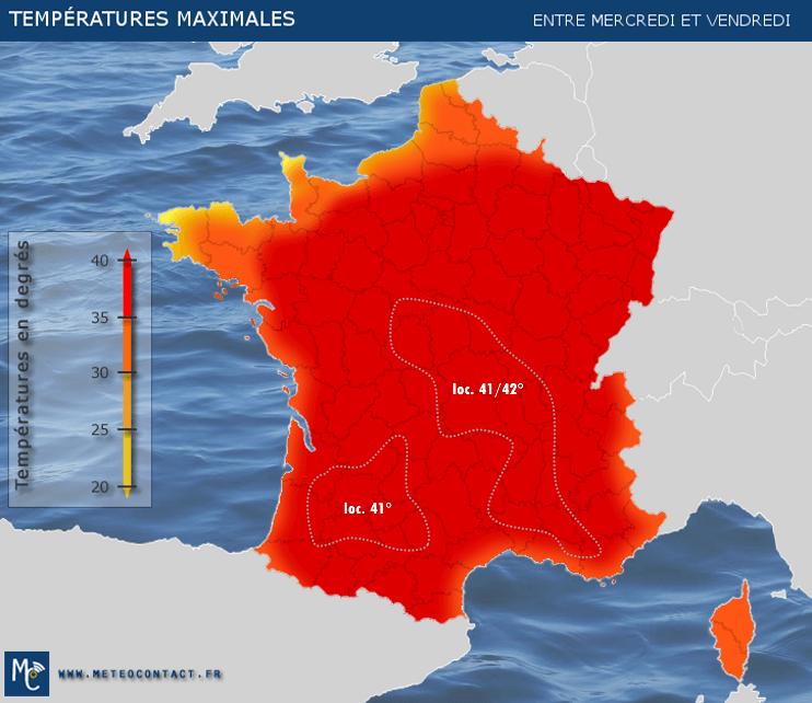 La France se prépare a un été caniculaire ?